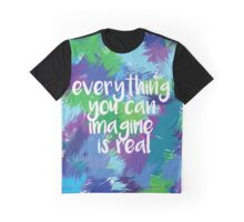 Imagination is Real Graphic T-Shirt