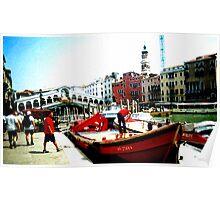 venetian sky Poster