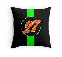 Hulkenberg 27 Throw Pillow