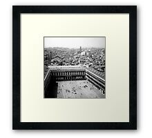 center of the maze Framed Print