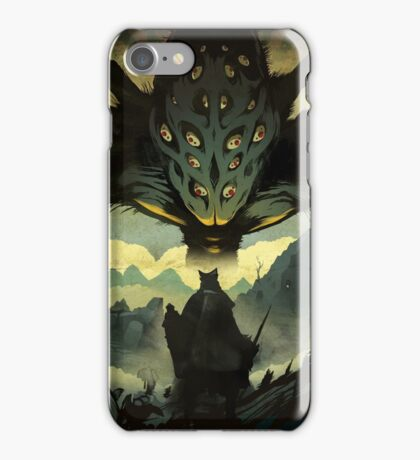 AMYGDALA THE NIGHTMARE FRONTIER iPhone Case/Skin