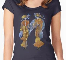 Gingko Dresses Women's Fitted Scoop T-Shirt