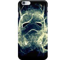 Smoke Stormtrooper helmet - Colour iPhone Case/Skin