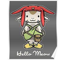 'ello Meow Poster