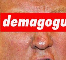 Trump demagogue Sticker