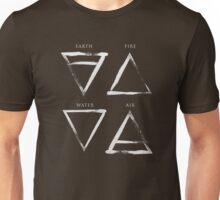Elements Symbols - Silver Edition Unisex T-Shirt