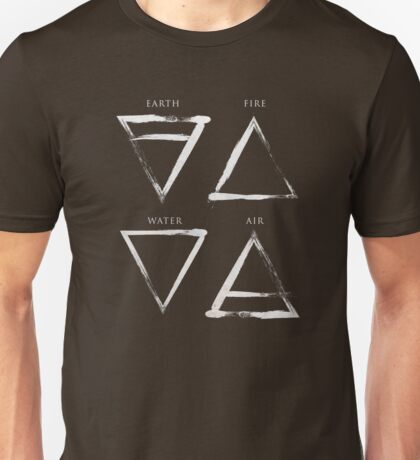 Elements Symbols - Silver Edition Unisex T-Shirt