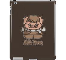 Hello Porco iPad Case/Skin