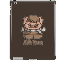 Hello Porco iPad Case/Skin