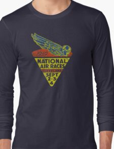 National Air Races Cleveland 1939 Long Sleeve T-Shirt