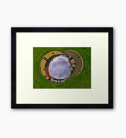 Hanna's Close, County Down (Sky In) Framed Print