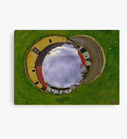 Hanna's Close, County Down (Sky In) Canvas Print