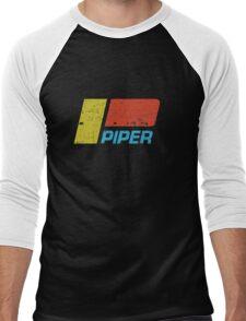 Piper Vintage Aircraft Men's Baseball ¾ T-Shirt