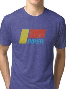 Piper Vintage Aircraft Tri-blend T-Shirt