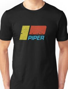 Piper Vintage Aircraft Unisex T-Shirt