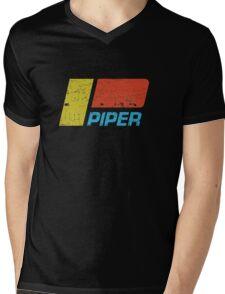 Piper Vintage Aircraft Mens V-Neck T-Shirt