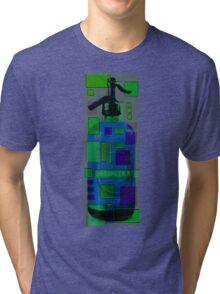 seltzer bottle study 1.1 Tri-blend T-Shirt