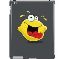 Cartoon Happy Lemon iPad Case/Skin