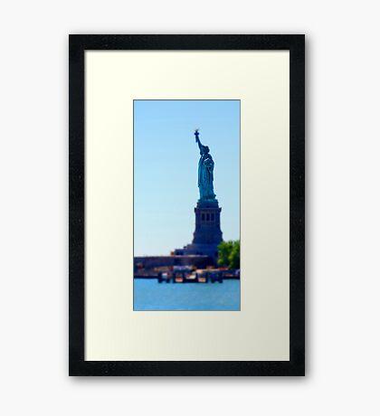 tiny liberty Framed Print