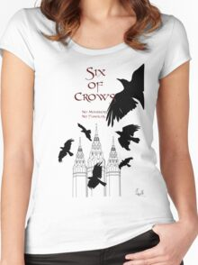 Six of Crows ~ Leigh Bardugo Women's Fitted Scoop T-Shirt