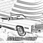 1975 Cadillac Eldorado Convertible Illustration by KWJphotoart