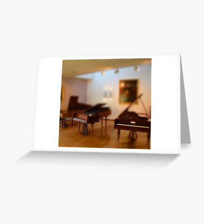 tiny pianos Greeting Card