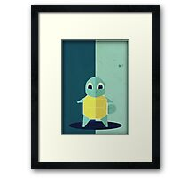 Pokemon - Squirtle #007 Framed Print