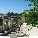 Antique theatre in Plovdiv by Maria1606