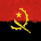 Angolan Flag Grunge by GrizzlyGaz