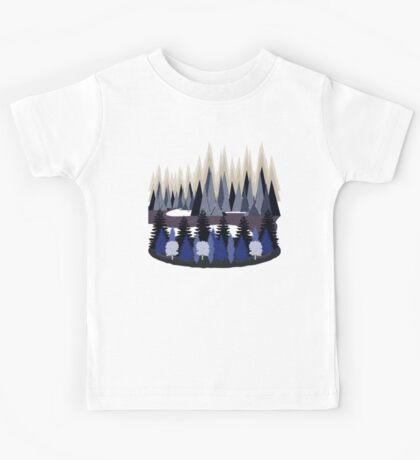 Mountain Landscape Kids Tee