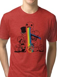 lol rainbow Tri-blend T-Shirt