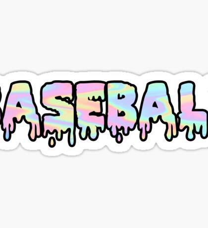 Baseball Trippy Sticker