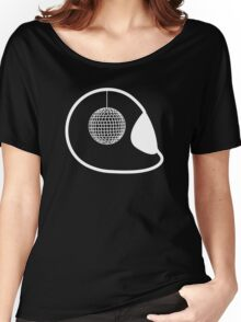 Disco Helmet Women's Relaxed Fit T-Shirt