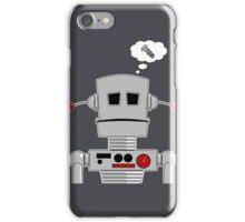 Robot Screw iPhone Case/Skin