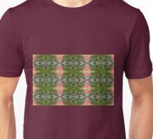 Red Poppy & White Flower Fractal (Multiple) Unisex T-Shirt