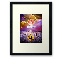 The Day of the Jellies Framed Print