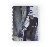 wonho stuck Spiral Notebook
