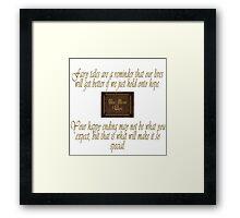 Fairy Tales Framed Print