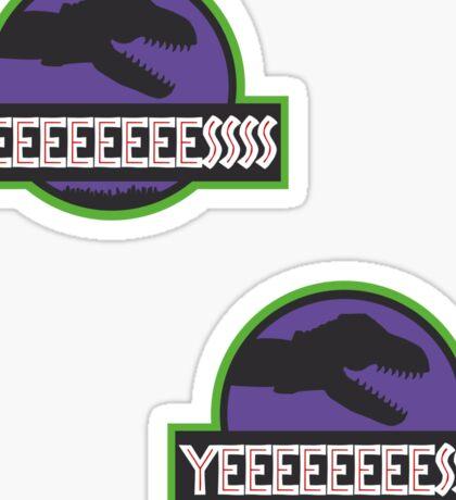 Predaconic Park Sticker 2-Pack Sticker