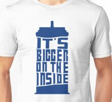 It's bigger on the inside! Unisex T-Shirt