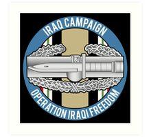 Combat Action OIF Art Print
