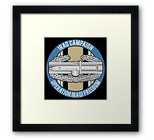 Combat Action OIF Framed Print