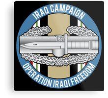Combat Action OIF Metal Print