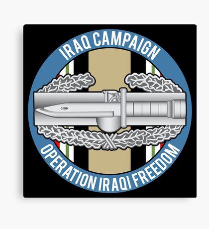 Combat Action OIF Canvas Print