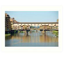 Ponte Vecchio - Firenze Art Print