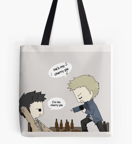 He's my cherry pie Tote Bag