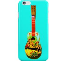 angled guitar iPhone Case/Skin