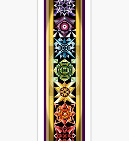 Chakra Ascension Banner Sticker