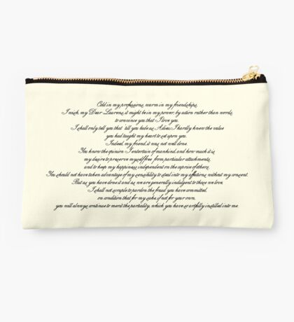 Letter to Laurens Studio Pouch
