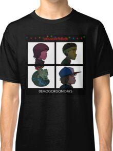 Stranger Things - Gorillaz Album Cover Style Classic T-Shirt